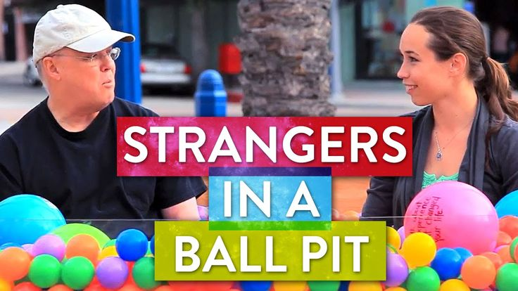 SoulPancake hits the streets to see what happens when two strangers sit in a ball pit... and talk about life's big questions. New videos every weekday! http:...