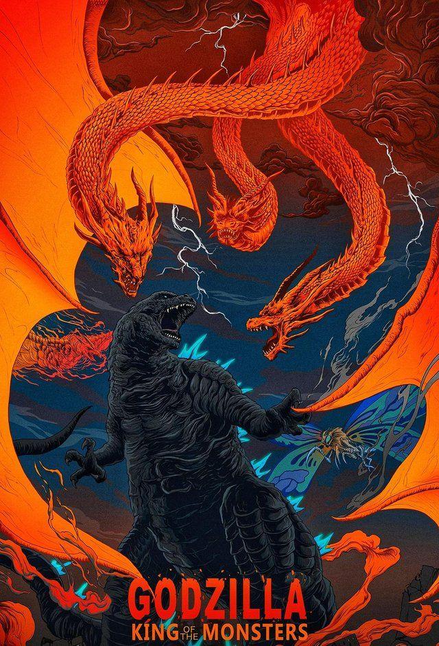 Godzilla King of the Monsters in 2020 Godzilla, Godzilla