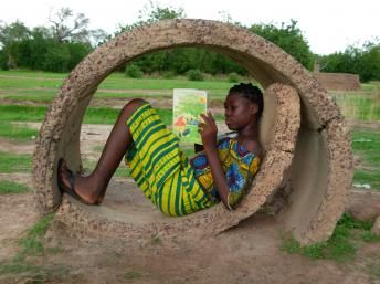 One of the African Village Libraries' best friends