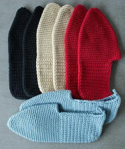 Free Knitting Patterns Bed Socks Slippers : Best 20+ Bed Socks ideas on Pinterest Crochet socks pattern, Easy crochet s...