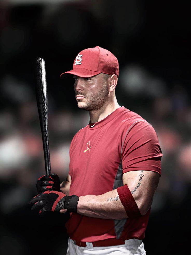 Matt Holliday - St Louis Cardinals.  Enough said!!