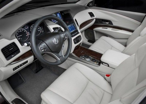 2014 Acura RLX Sport Hybrid Interior 600x428 2014 Acura RLX Sport Hybrid Full Review with Images