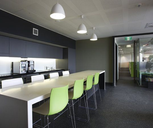 Corporate design australian interior design awards for Office lunch room design ideas
