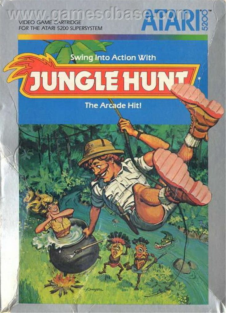 ColecoVision Jungle Hunt | Jungle Hunt - Atari 5200 - Games Database