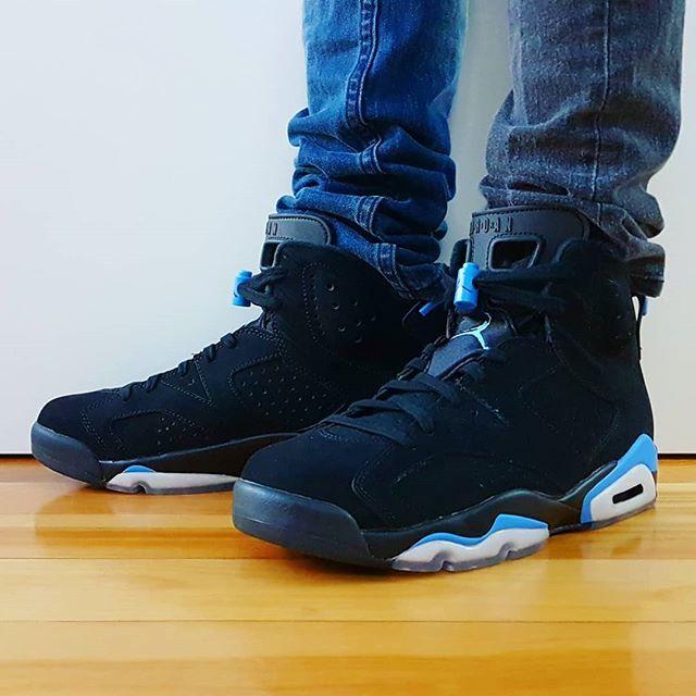 Go Check Out My Air Jordan 6 Retro Unc On Feet Channel Link In Bio Shop Kickscrewcom Jordansdaily Jumpman Sneakers Sneakers Air Jordans Sneaker Head