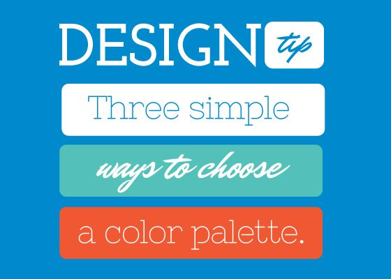 Three simple color palettes to use when designing » The Canva Blog