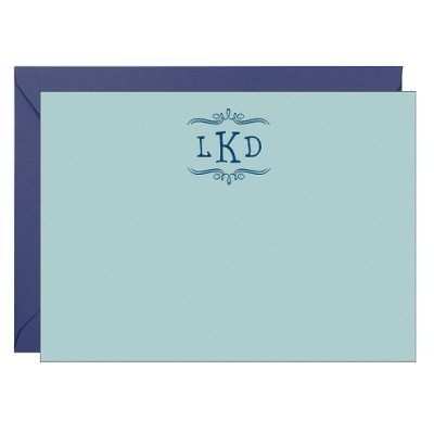Monogrammed stationary, perfect for sending thank you letters post graduation: Awesome Products, Letters Posts, Monograms Note, Posts Graduation, Mine Monograms, Products I D, Monograms Stationary