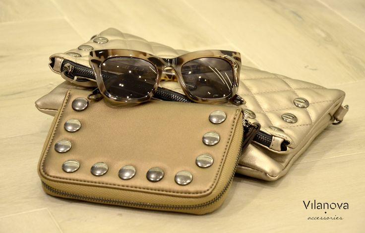 Metallics are in🔝 #vilanova #vilanova_accessories #accessories #metallics