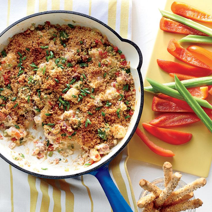 """Shrimp-and-Andouille Gumbo Dip 