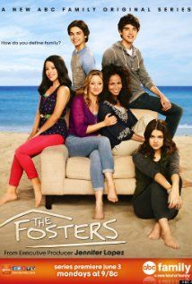The Fosters (2013 -  ) A multi-ethnic family mix of foster, adopted, and biological kids are being raised by two moms.