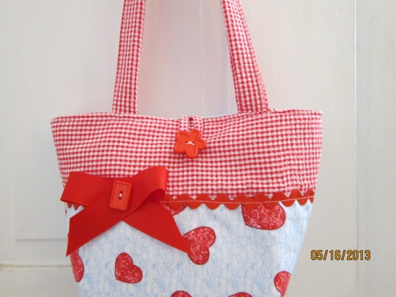 Little Girls Handmade Handbags Purse Tote Party by Cindrahandbags, $9.95
