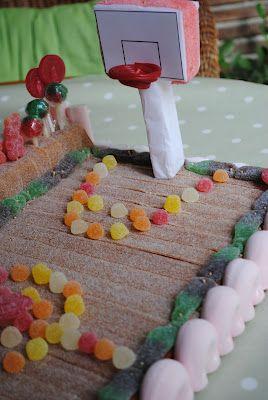 La tarta perfecta para los apasionados del baloncesto, mmmmmm
