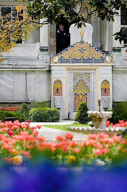 Gardens, Topkapi Palace, Istanbul, Turkey.