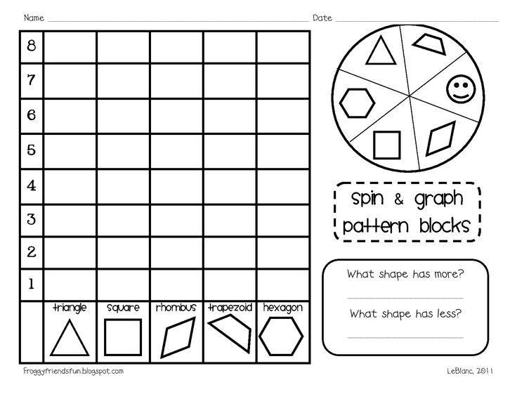 Pattern Block Activities Crafts For Kids Pinterest