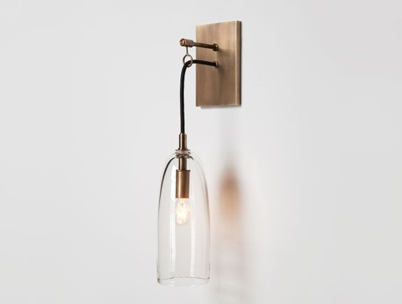 Lure Sconce from Holly Hunt