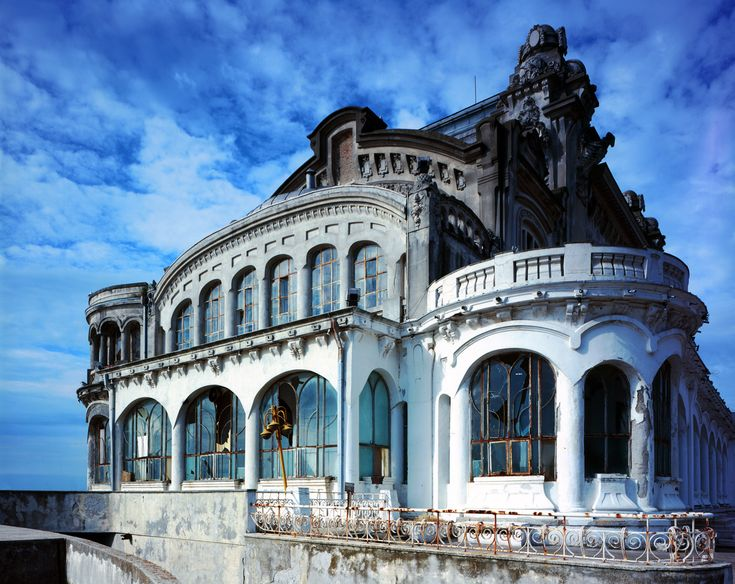 Casino Constanta - the most beautiful abandoned Casino, still standing. Isn't she grand!