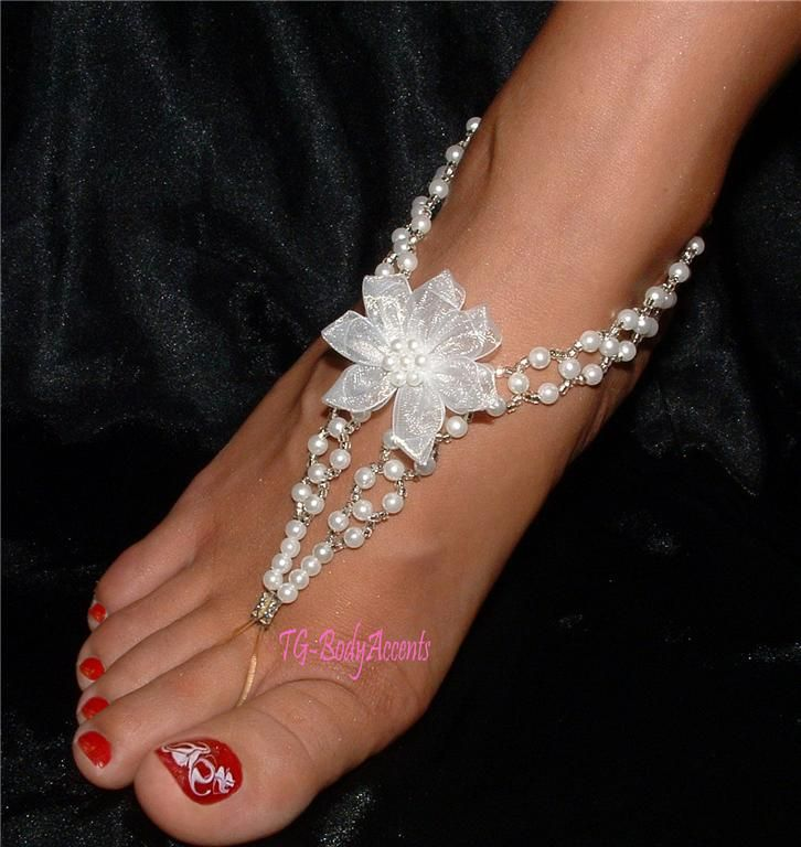 10 Best Wedding Foot Jewelry Images On Pinterest