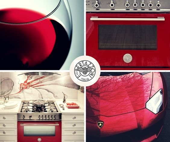 #DidYouKnow?  #Bertazzoni Cookers are painted in the same factory as the most famous Italian sports cars, using identical painting processes! #FerrariStyle #LamborghiniLove #ItalianPassion