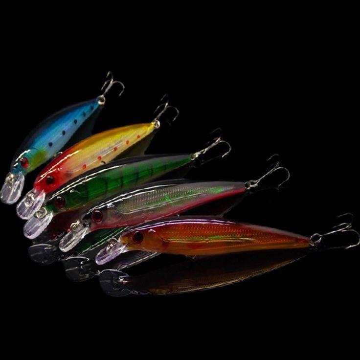 5Pcs/Lot Top Grade Classic laser minnow fishing lure set Floating Sirajiong High Quality Hook wobblers Pesca 5colors 11cm 13.5g