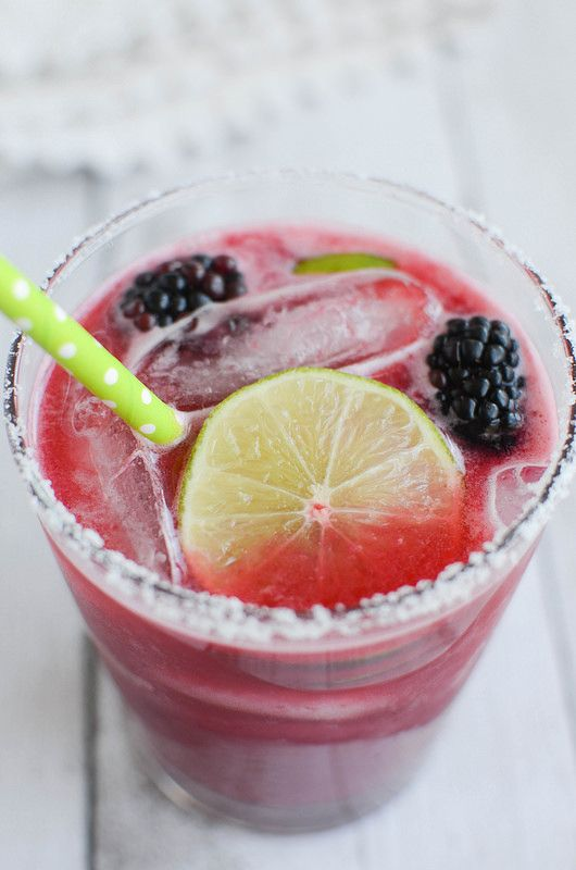 Blackberry Margaritas recipe!