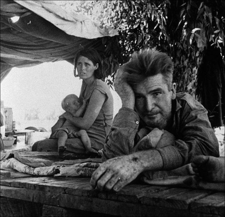 Dorothea Lange. Great Depression picture