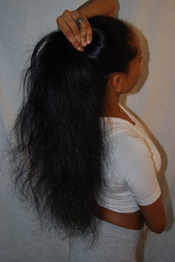 My goal is to have waist length hair. [ Read the 10 steps to growing African American hair article to get started ]
