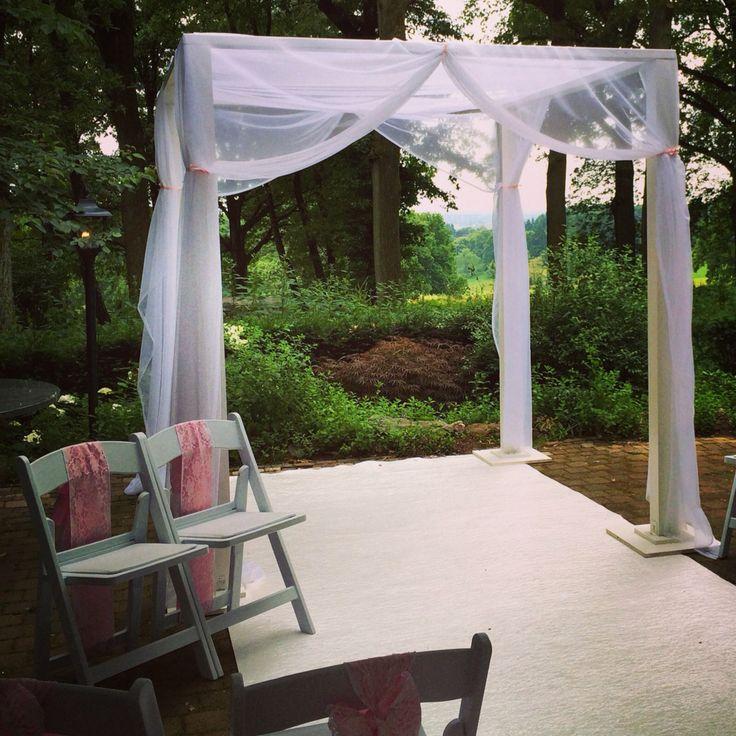 25 best ideas about bruiloft prieel op pinterest tuinhuisje decoraties buiten - Prieel buiten ...