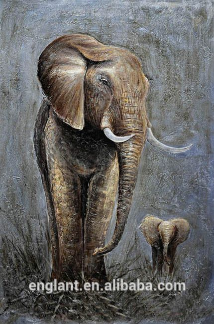 Best 25 Paintings Of Elephants Ideas On Pinterest