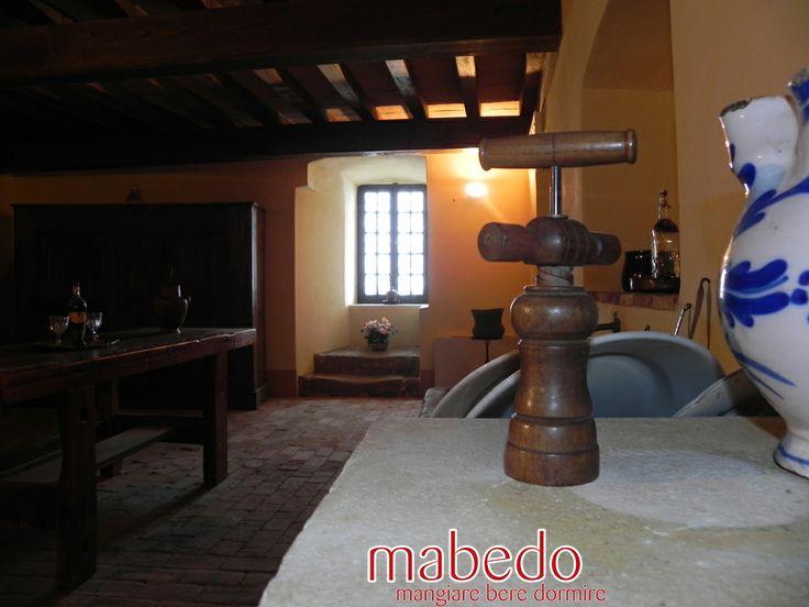 Le cucine del Castello Dal Verme di Zavattarello