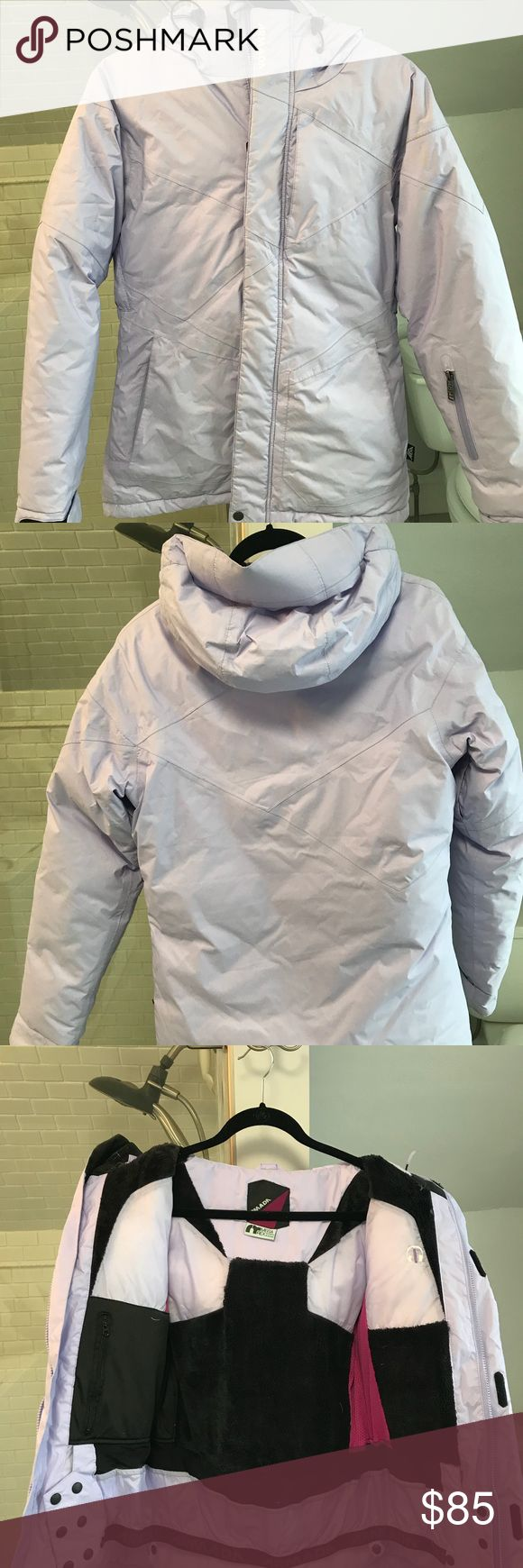 Armada women's ski jacket. Lavender armada down ski jacket with snow skirt. Women's size small. Gently used with some discoloration on the sleeves. armada Jackets & Coats Puffers