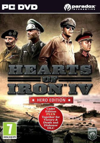 Hearts of Iron IV Hero Edition (PC) https://www.facebook.com/PTamps/ Warm Regards, Paul Thompson  http://www.base.com