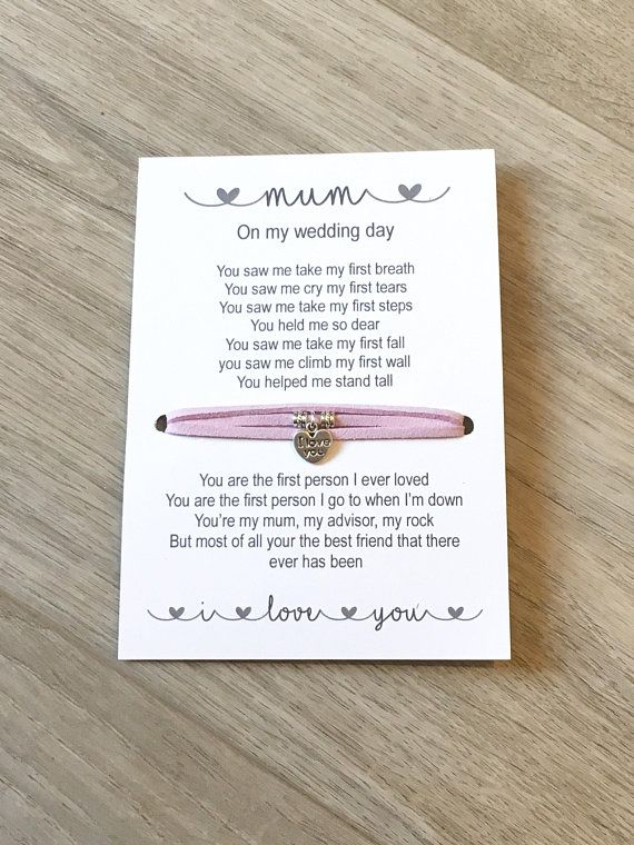 Mother Of The Bride Gift Of All The Walks Gift Mum Bracelet Daughter To Mum Gift Gifts For Mum Wedding Favo Dad Wedding Gift Bride Gifts Wedding Day Gifts