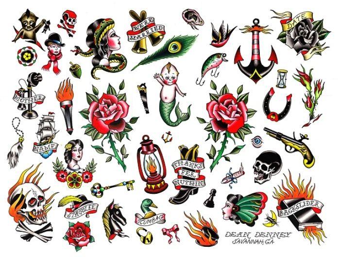 Tatuaggi old school per donne coraggiose: i disegni più cool