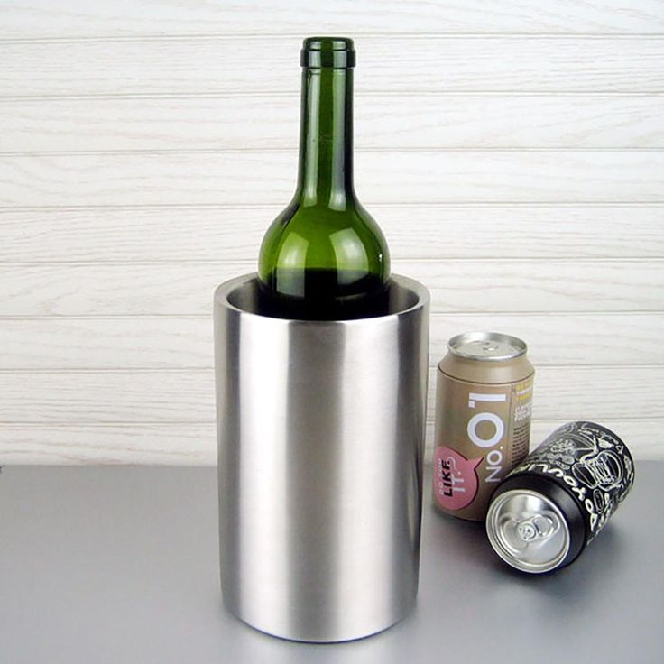 Stainless Steel Ice Bucket Whisky Beer Wine Cooler Chiller Champagne Wine Bottle Barrel Cooler Bar Tools Accessories