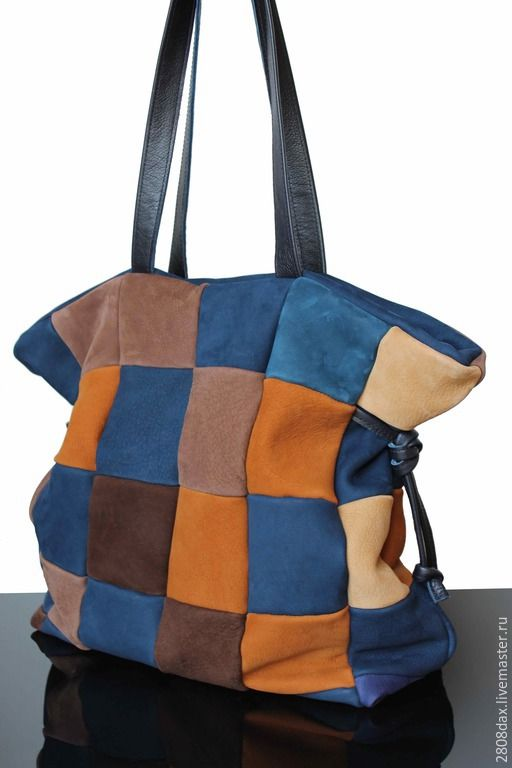 Купить Замшевая сумка, большая сумка, сумка на осень, кожаная сумка - сумка женская