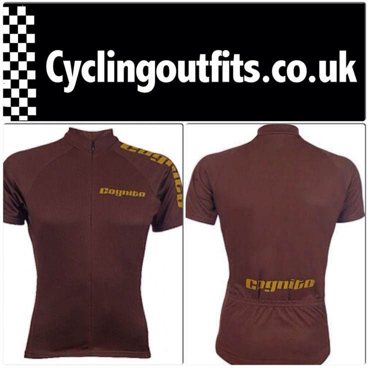 Blend into the autumn with this cool retro style Cognito jersey!