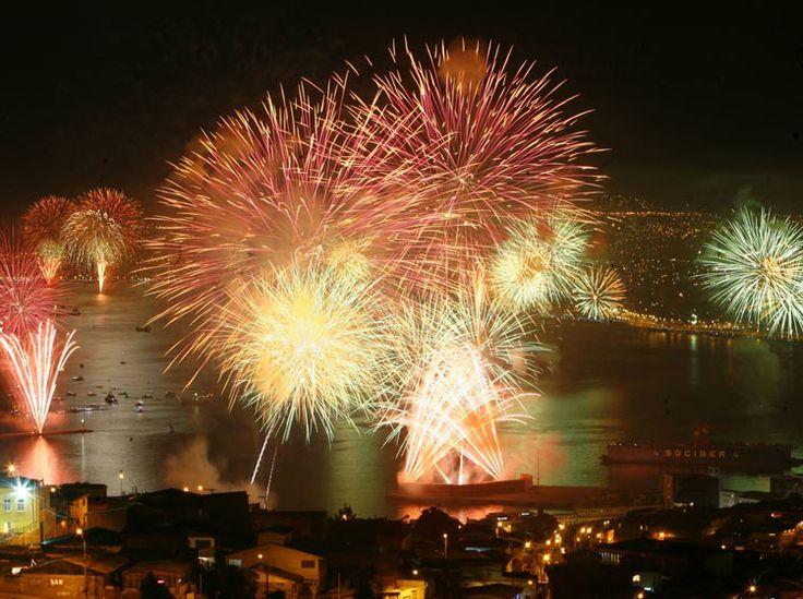 Año Nuevo en Valparaiso