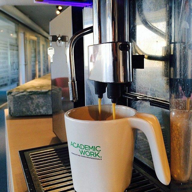 Morgonens första kaffe