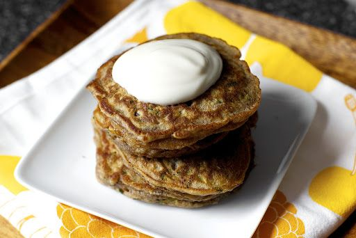 Zucchini Bread Pancakes Recipe on Yummly | drinks and food | Pinterest