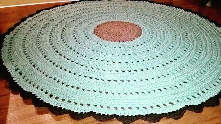 Dywan dla Krzysia Kristofer`s crochet rug