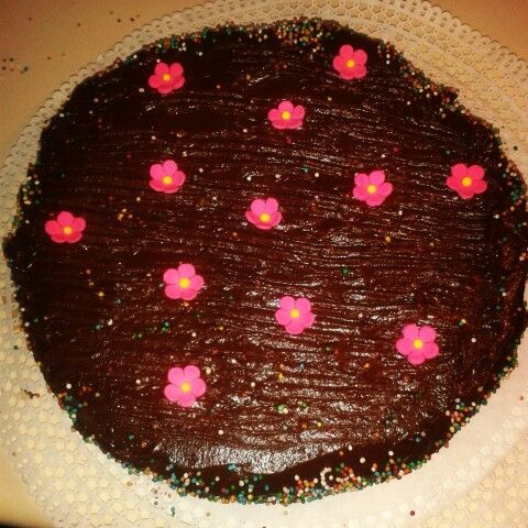 Torta de chocolate con fudge