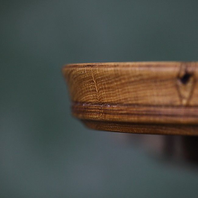 SUNSUBIRO VII, Oak Wooden Bowl made by Loved Things | Castron din lemn masiv, unicat, handmade, creatie Loved Things