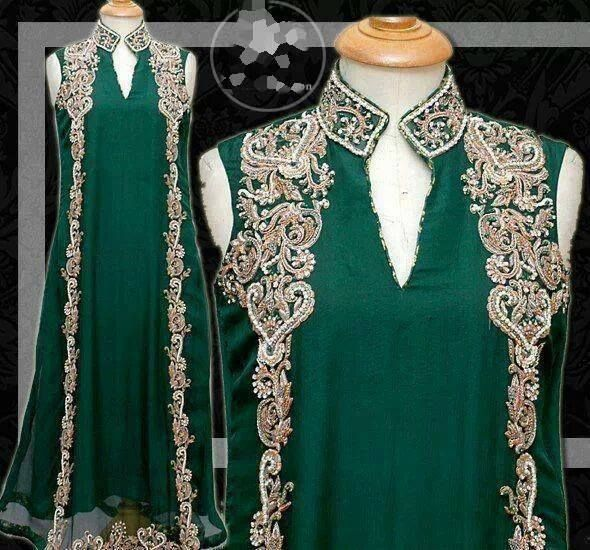 Pakistani Party Wear by Maria Khan