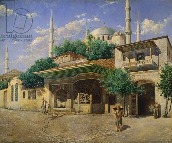 Sultan Ahmet Mosque, 19th century