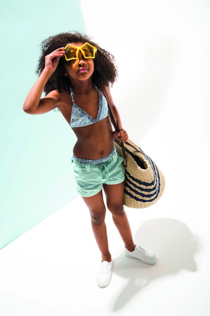 Summer blue collection été 2015 #look #mode #enfant #été #vacances #bleu #plage