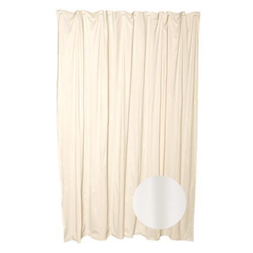 """Zenith 27FFMV Vinyl Shower Curtain Liner 70""""x72"""", Cashmere"""