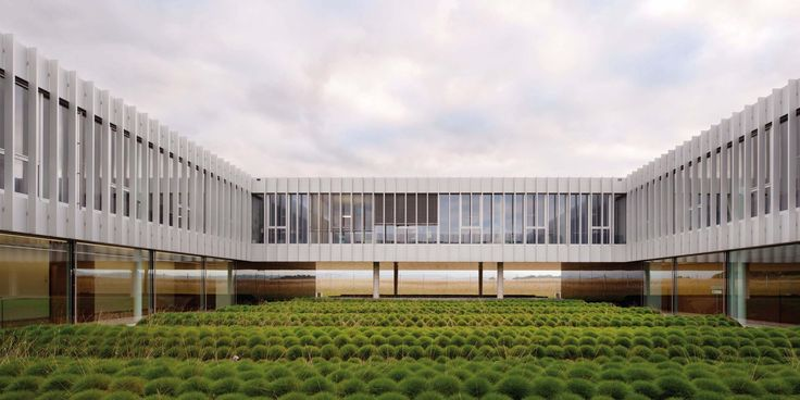 [Richter Dahl Rocha | Chemin de Faraz, Switzerland | BOBST HQ] industrial architecture, biophilia