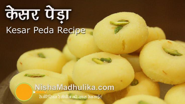 Kesar Peda Recipes, How to make Kesar Peda?