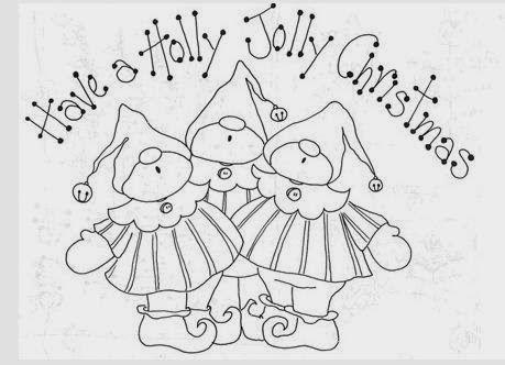 dibujos navideños para bordar - Buscar con Google