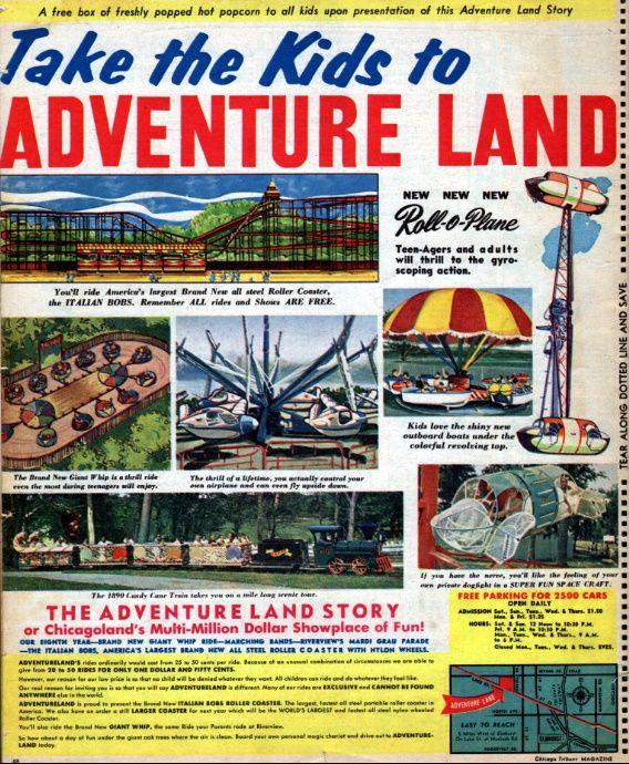 Adventureland - Chicago - 1968